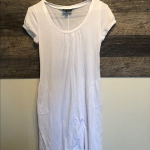Athleta White T shirt dress